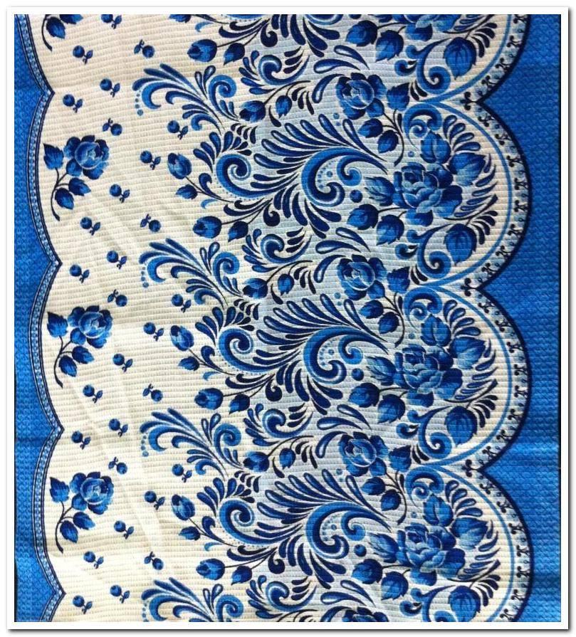 Набор Полотенец ваф. ГЖЕЛЬ-1021