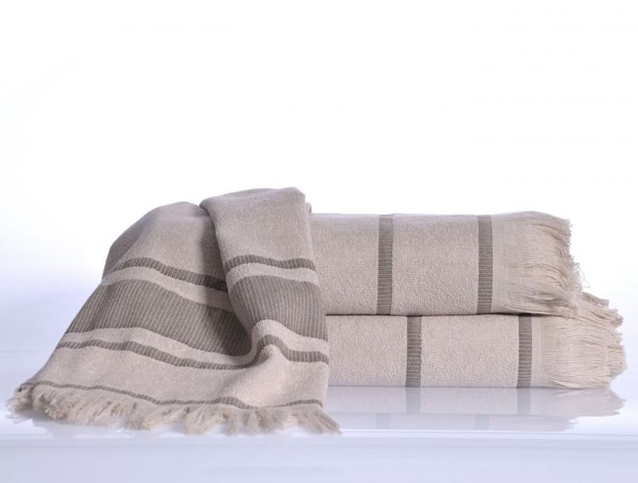 DURU Yakamoz (сиреневый) Полотенце пляжное