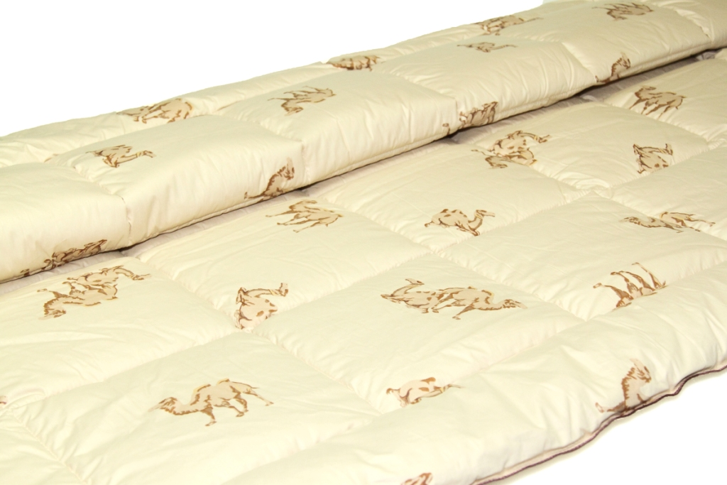 Одеяло Верблюжья шерсть ЛЮКС