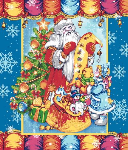 Набор Полотенец ваф. Письмо Деду Морозу