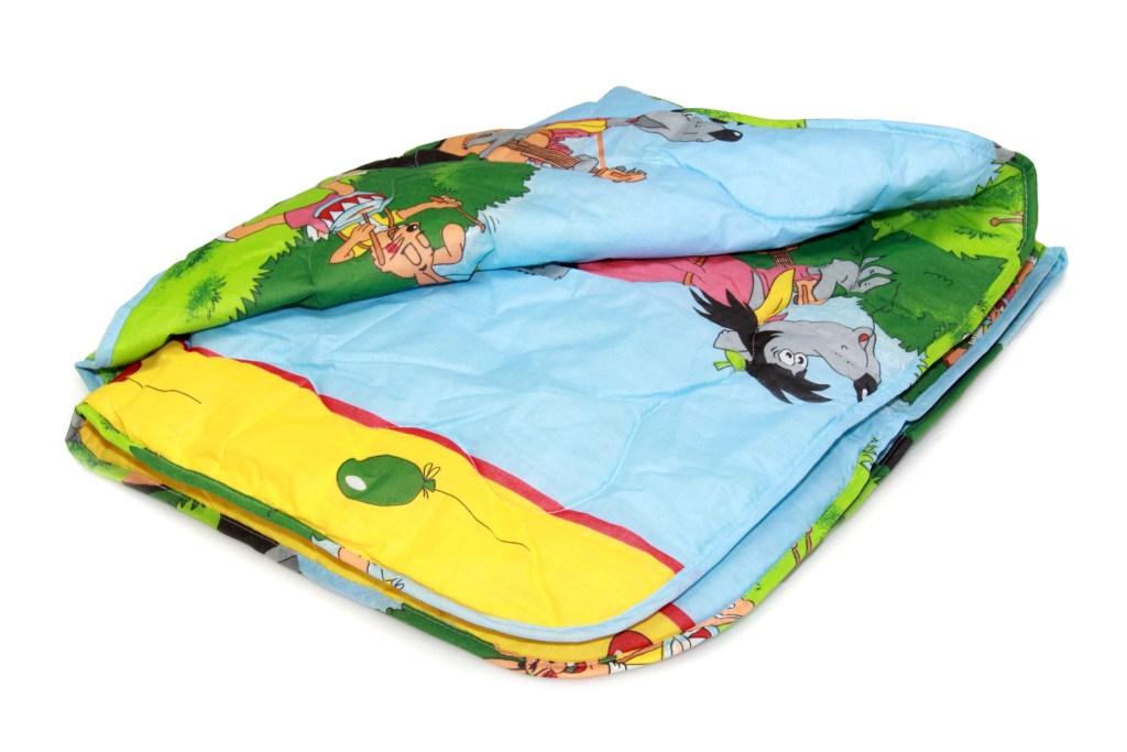 Одеяло детское овечья шерсть облегченное