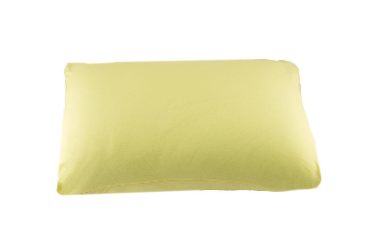 NT Наволочки трикотажные (желтый)