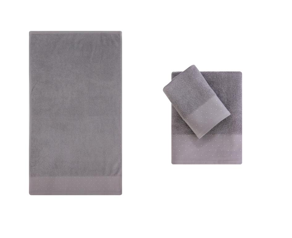 Полотенце банное CORTEZZA D.Grey (темно-серый)