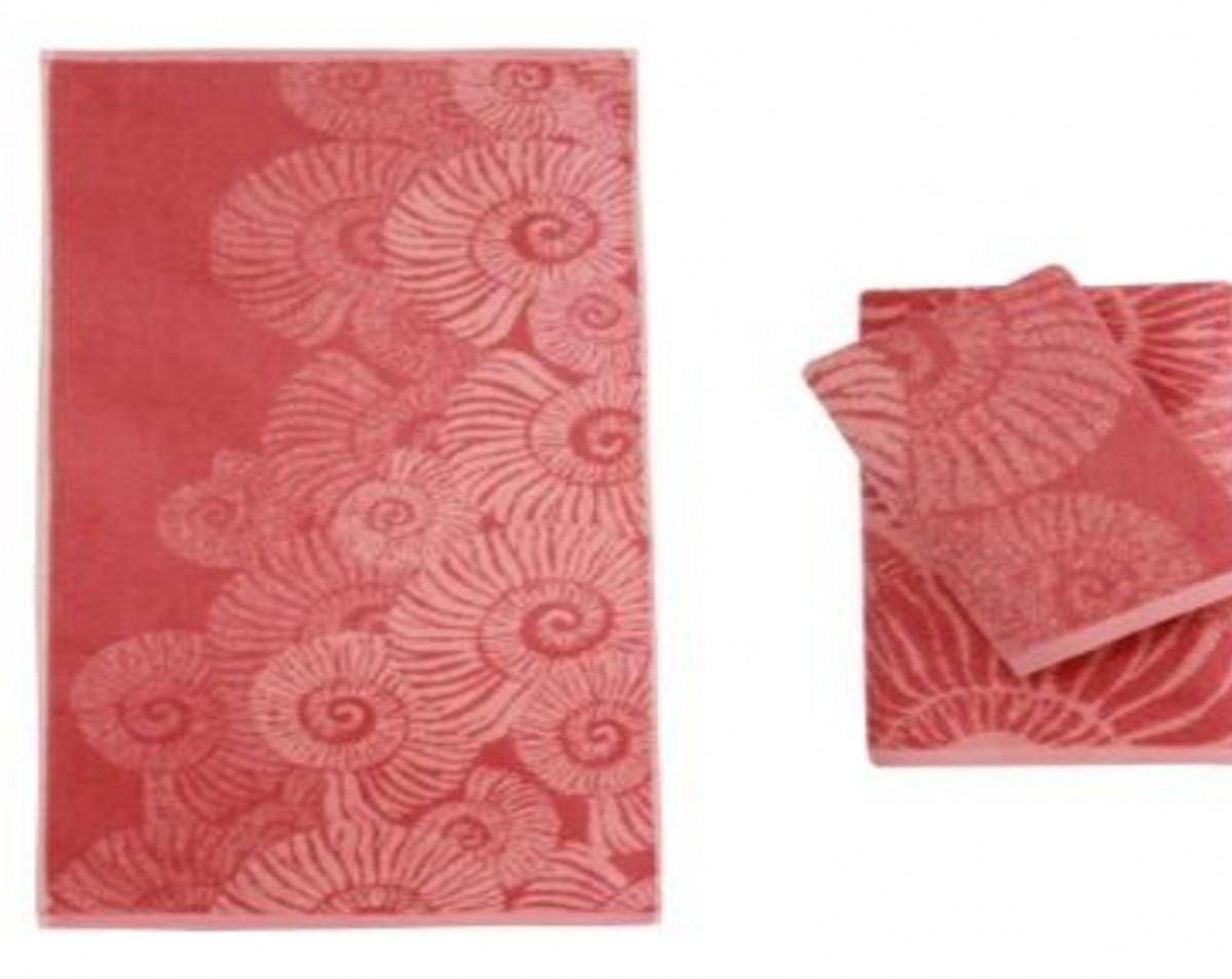 Полотенце банное SPAZİOSO L.Somon/D.Somon (розовый)