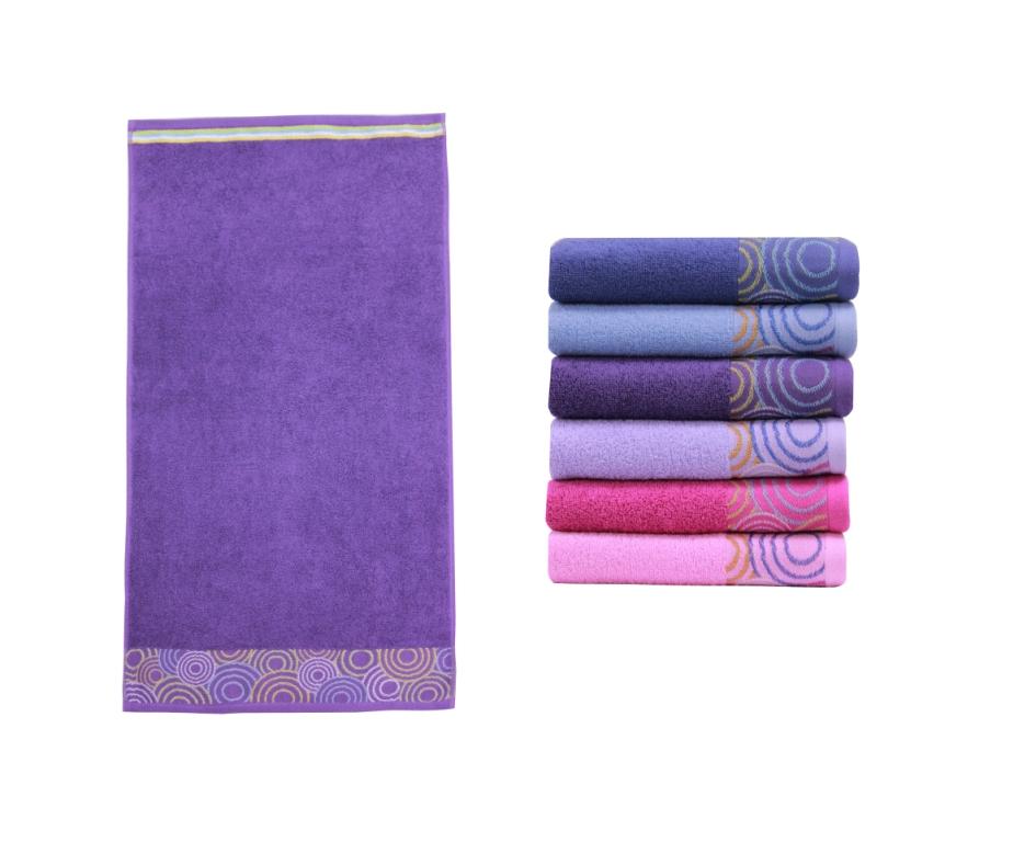 Полотенце банное SİGNİFİCATO Purple (пурпурный)