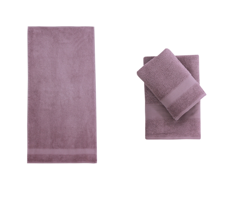 Полотенце банное RESİDUA D.Lilac (темно-сиреневый)