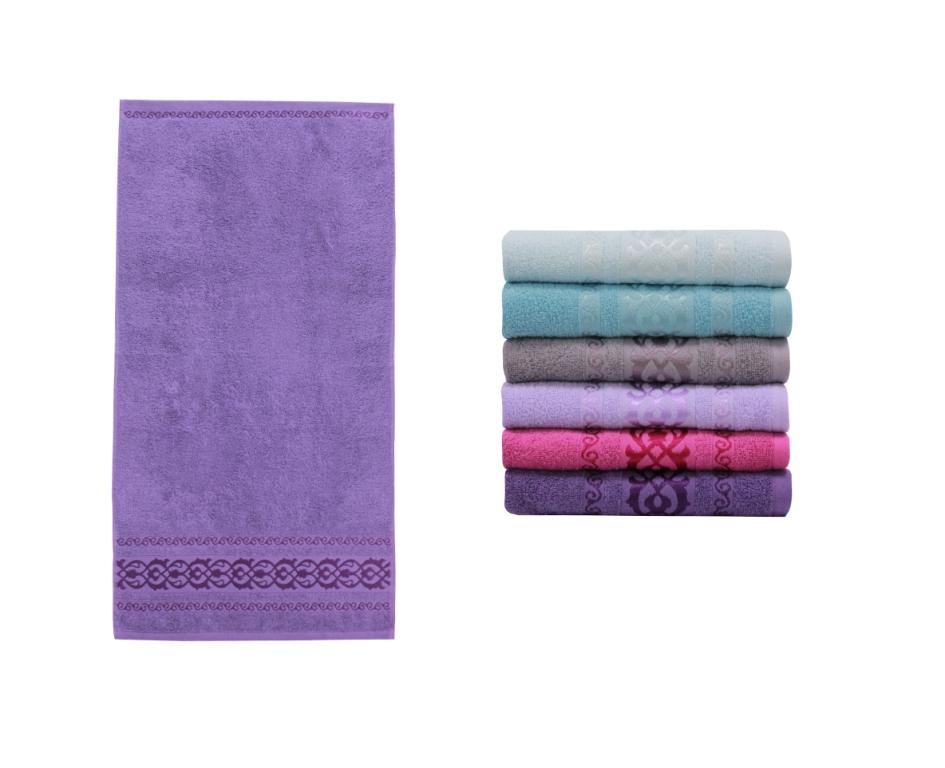 Полотенце банное LALE FLOŞ Purple (пурпурный)