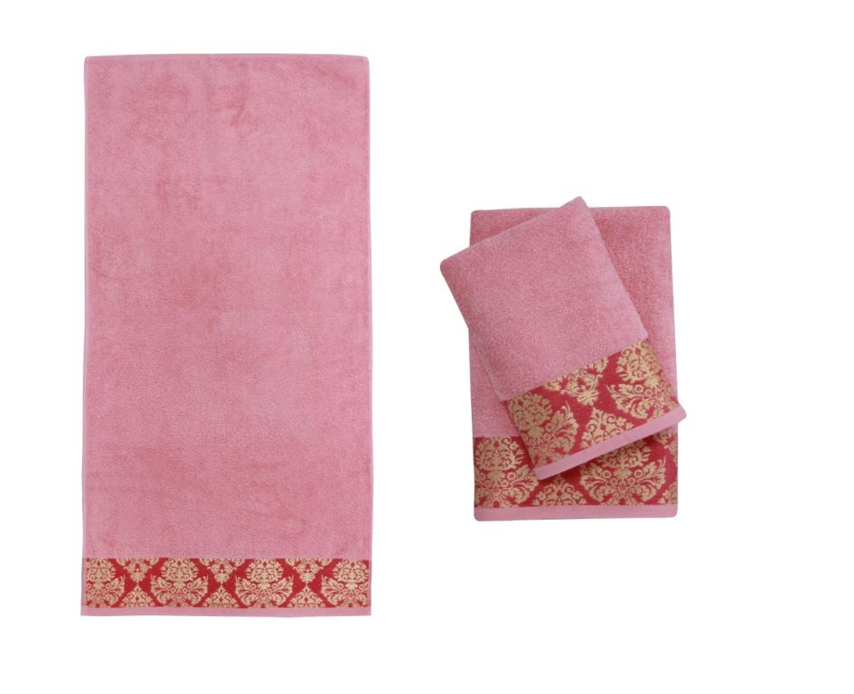 Полотенце банное INGEGNOSİTA Pink (розовый)