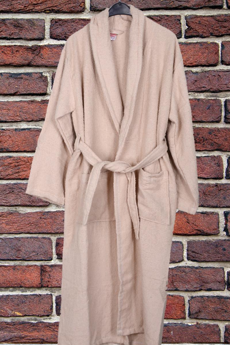 Халат светло-коричневый