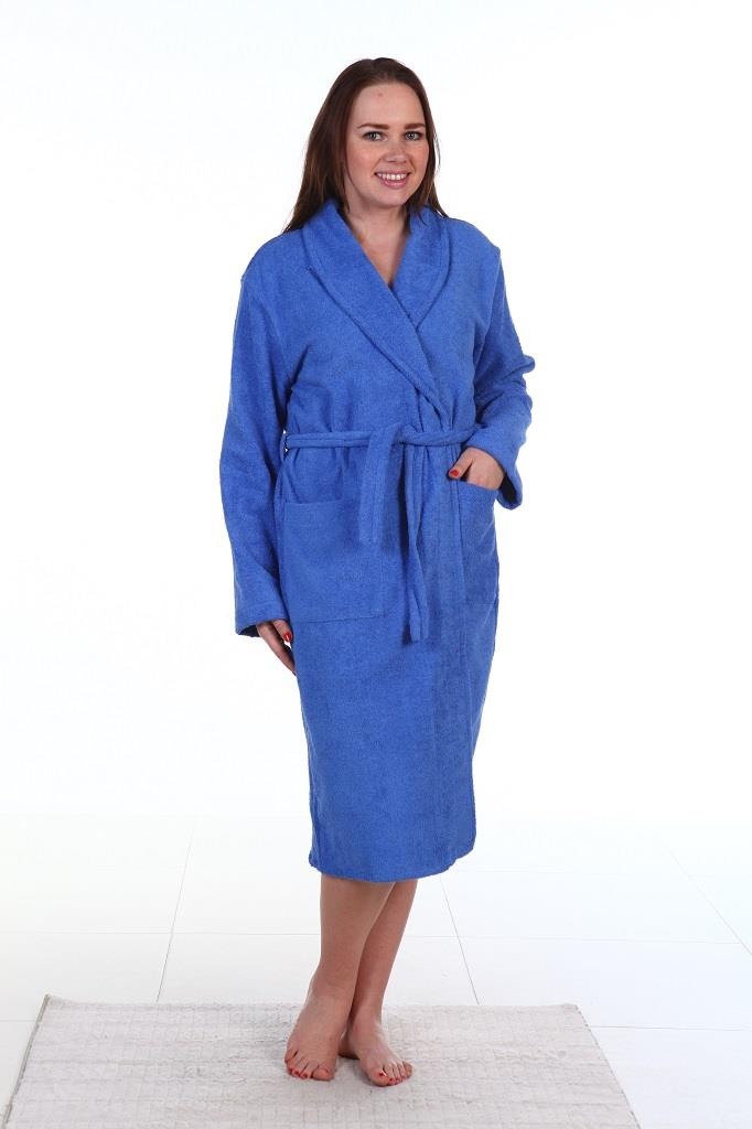 Халат синий