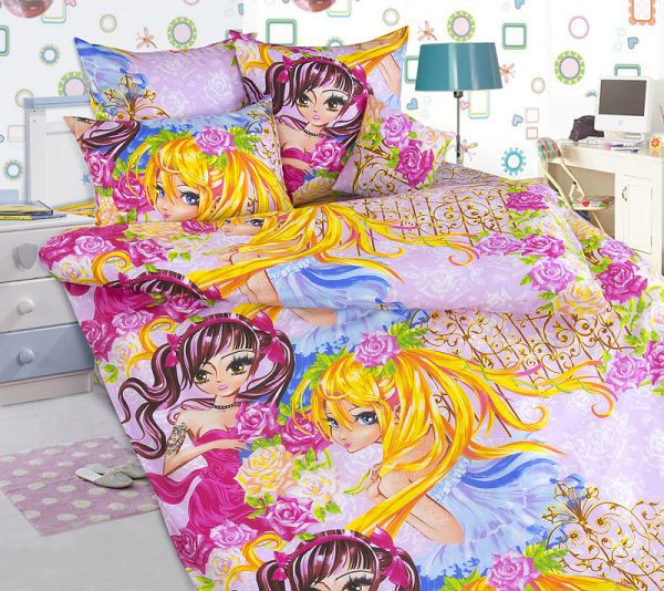 КПБ детский 1,5 спальный ДБ-66