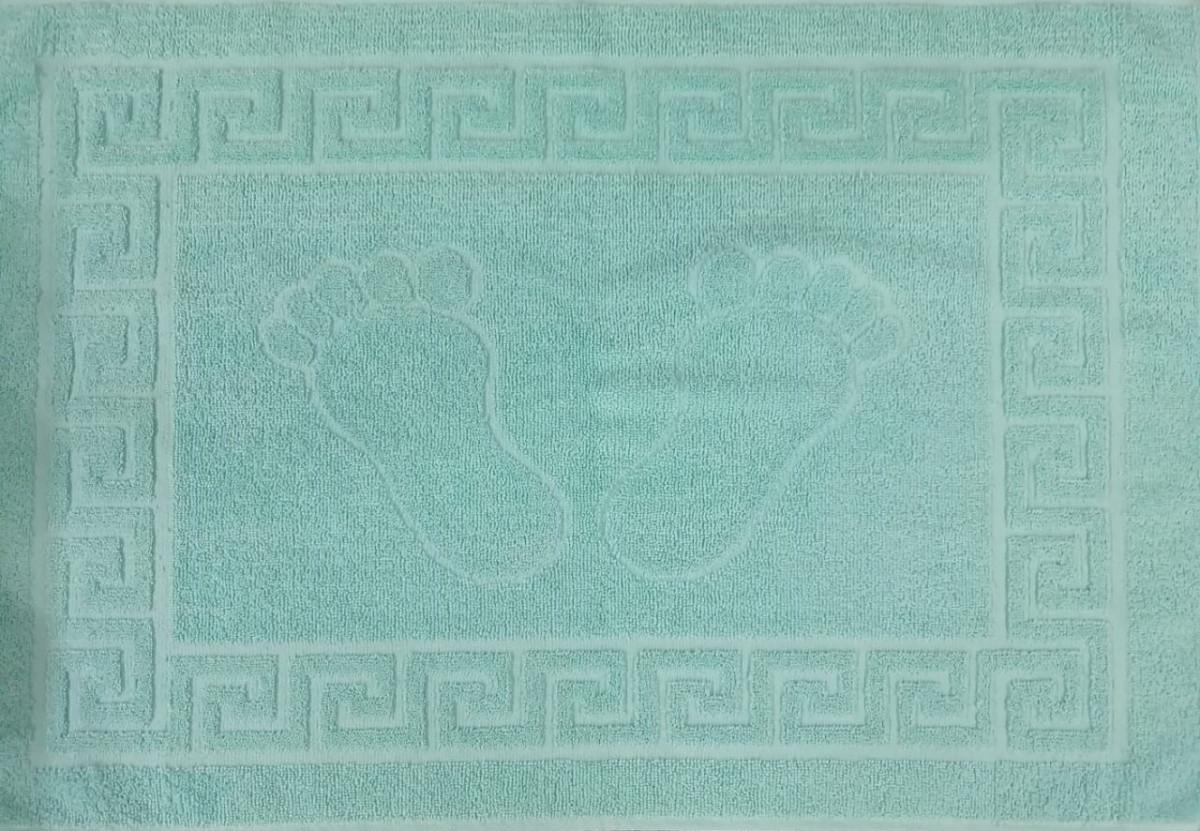 Полотенце-коврик для ног Green (Зеленый)