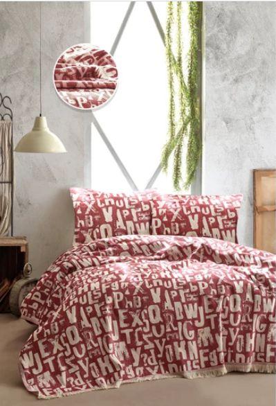Покрывало TINEGER BED SPREAD цвет красный (RED)
