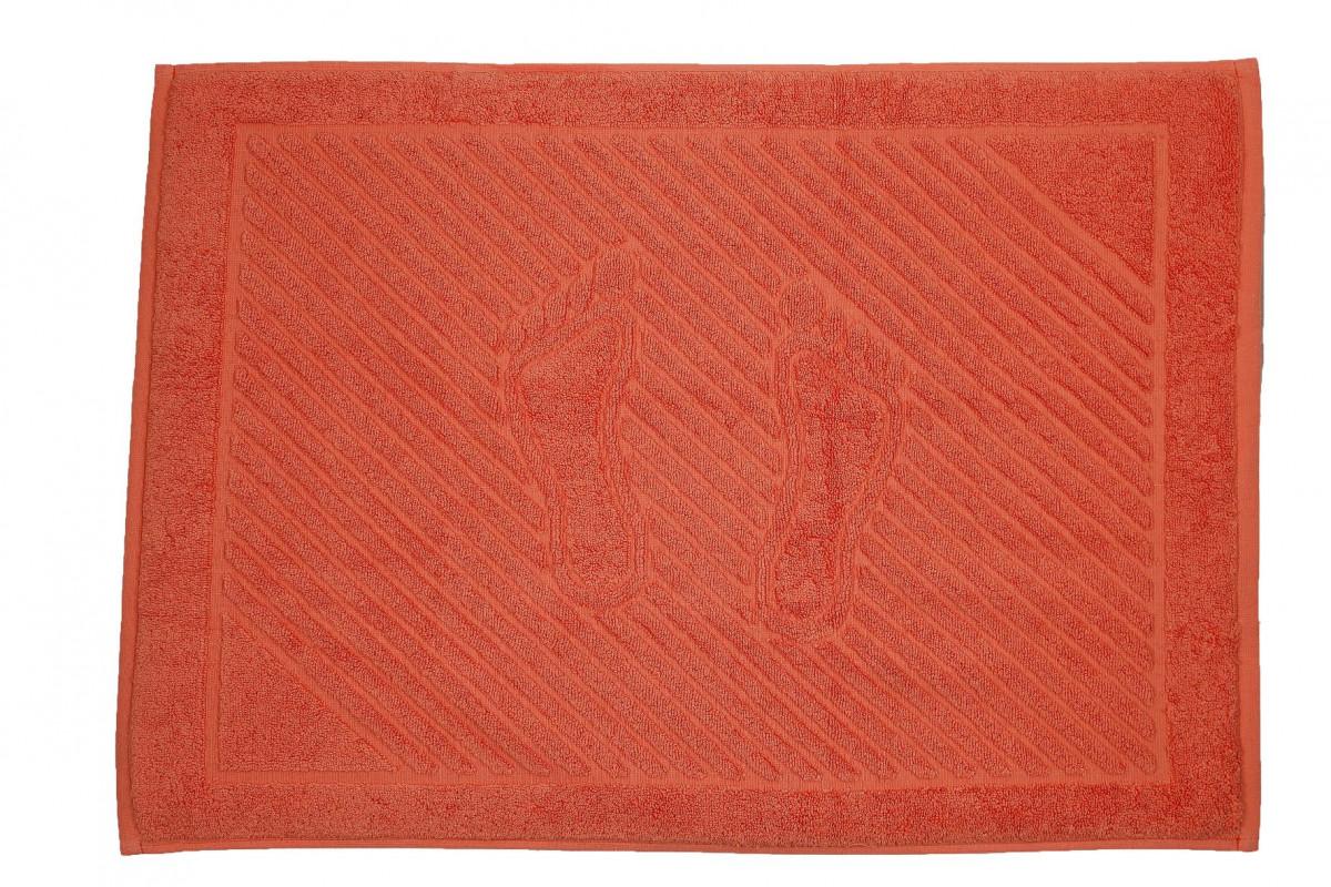 Полотенце-коврик для ванной Living coral (Живой коралл)