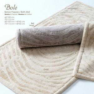 BOLE Gold (кремовый) Коврик для ванной