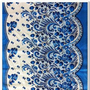 Набор Полотенец ваф. ГЖЕЛЬ-1021  ( 3шт. в упаковке )