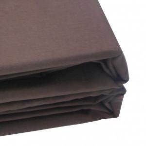 Наволочка цвет шоколадный 100-3А