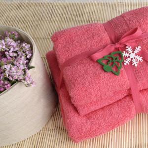 Shalla полотенца Coral (коралловый)