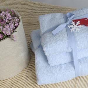 Shalla полотенца Mavi (голубой)