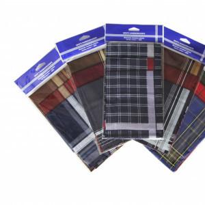 45430д(3) Набор мужских носовых платков (3шт)
