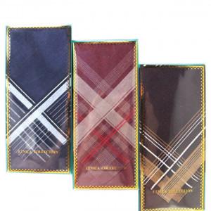 Пд2 Подарочный набор-мужской носовой платок (1шт)