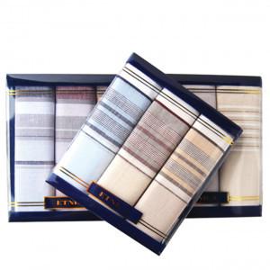 Пд15л Подарочный набор мужских носовых платков (3шт)