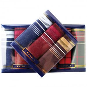 Пд15д Подарочный набор мужских носовых платков (3шт)