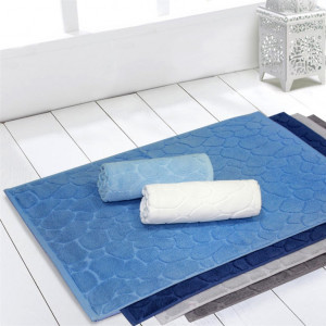 NOSTALGIA L.Blue (св. голубой) Коврик для ванной
