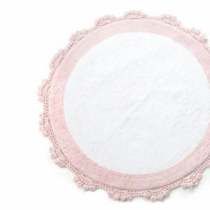 DOREEN Pembe/Beyaz (розовый/белый) Коврик для ванной