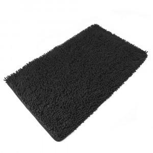 Коврик микрофибра BLACK (черный)