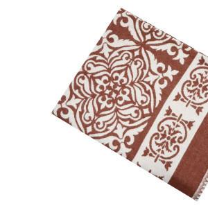 Одеяло Хлопок100% арт.1-9 (светло-коричневый орнамент)