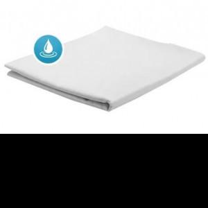 Простынь АкваСтоп на резинке трикотаж 100%хлопок (110гр+30гр TPU)