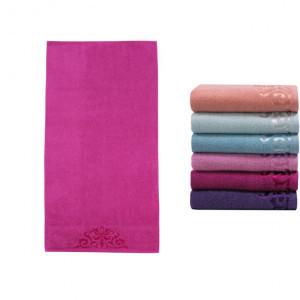 Полотенце банное DESTREZZA Purple (пурпурный)