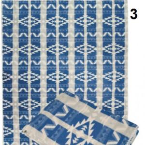 Одеяло Хлопок100% арт.3 (синий орнамент)