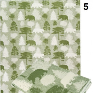 Одеяло Хлопок100% арт.5 (лес)
