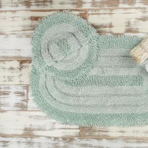 SHINE GREEN (ментоловый) Набор ковриков для ванной комнаты