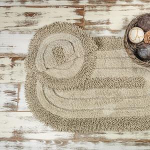 SHINE KAPUCHINO (капучино) Набор ковриков для ванной комнаты