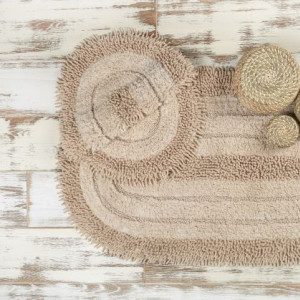 SHINE CAMEL (верблюжий) Набор ковриков для ванной комнаты