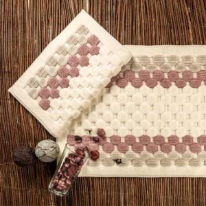 BOUBLE RED (красный) Набор ковриков для ванной комнаты